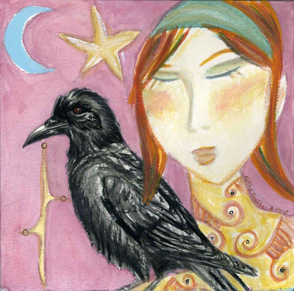 Raven Magick by Kathy Crabbe