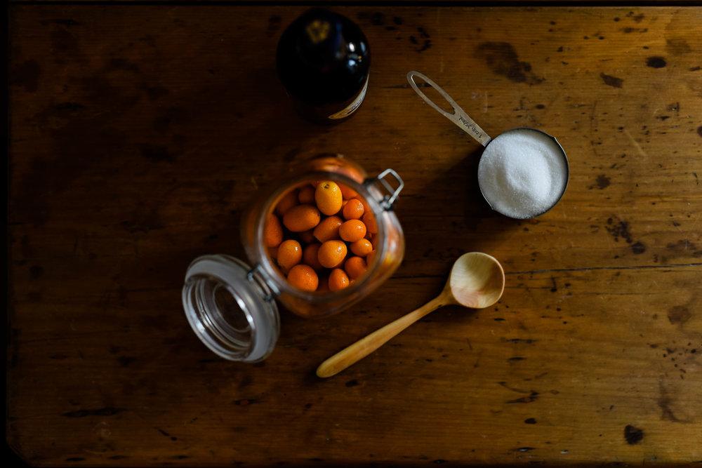 cumquat liqueur hannah puechmarin food photographer