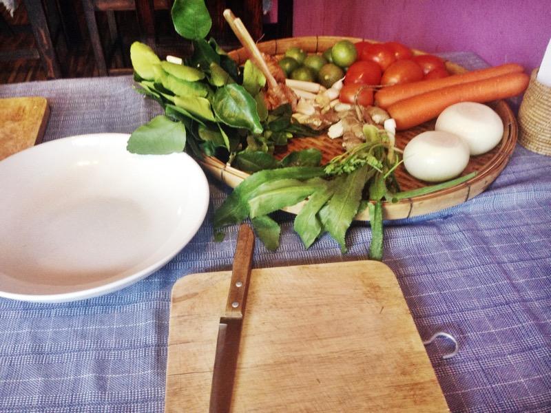 Pre-cut vegetables