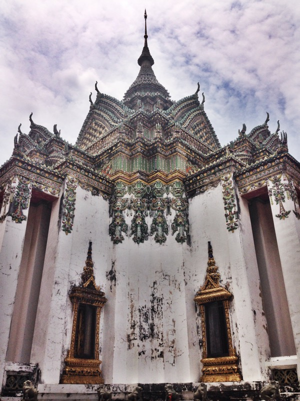A beautiful temple on the grounds of wat pho
