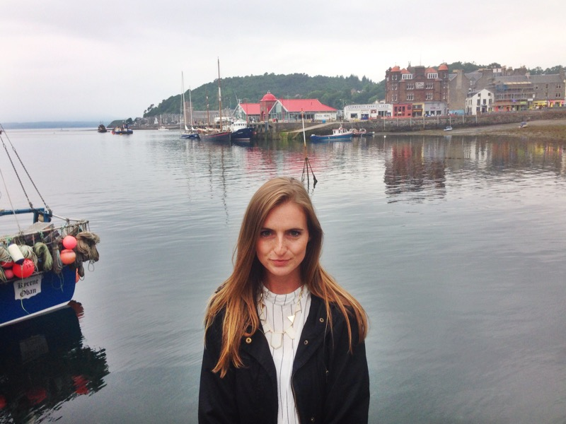 Spending time in the port town of Oban