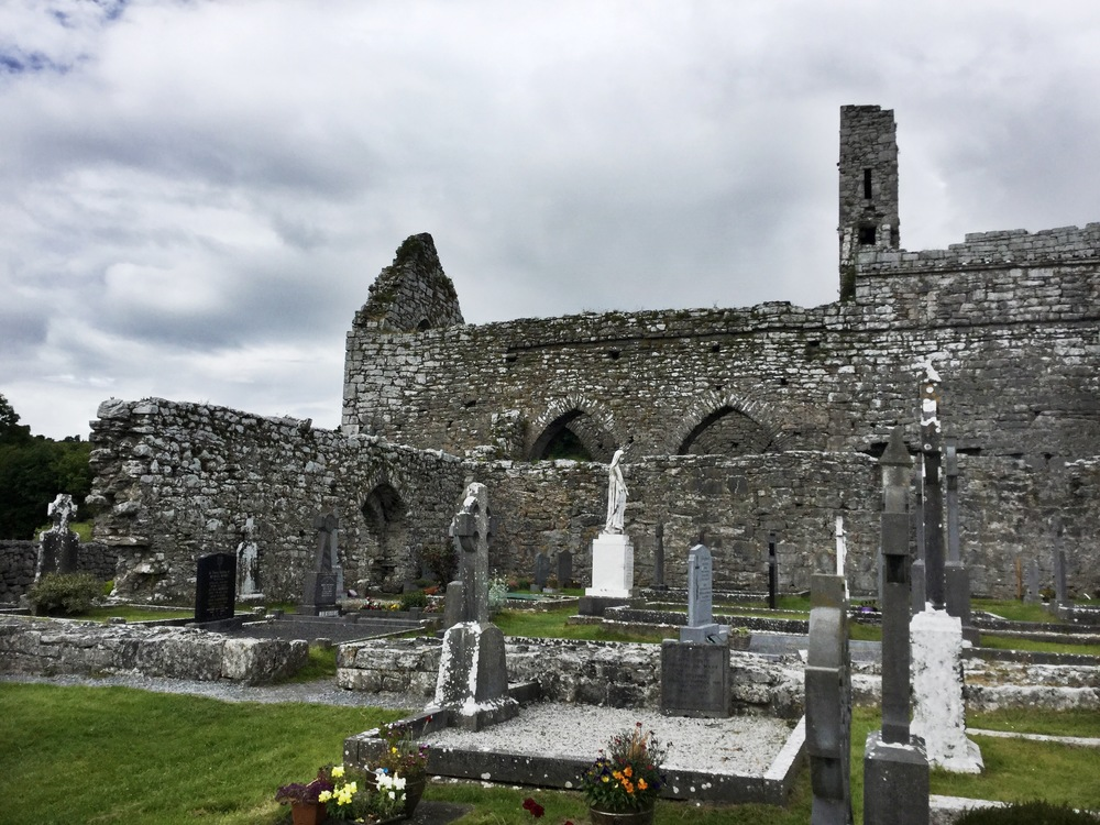 An old Irish abbey