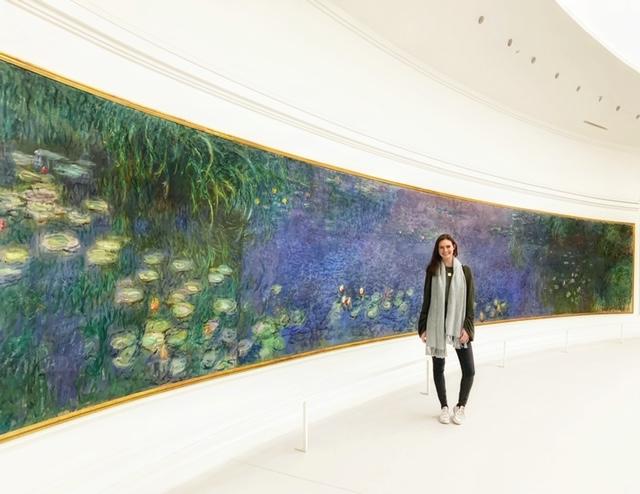 Monet's water lilys