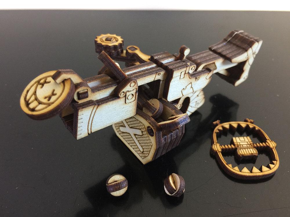 Laser Cut Wooden Kit