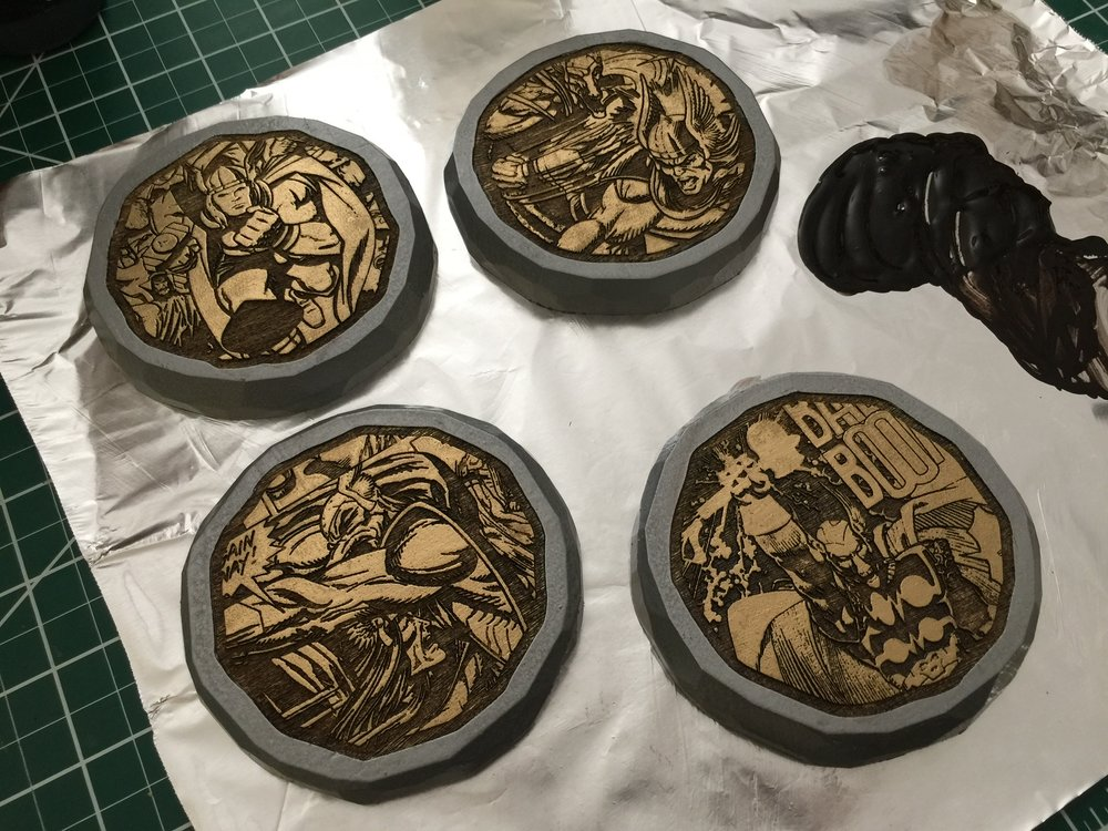 Thor Themed Coasters