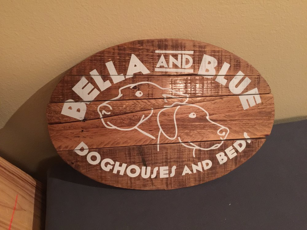 Business Wooden Sign