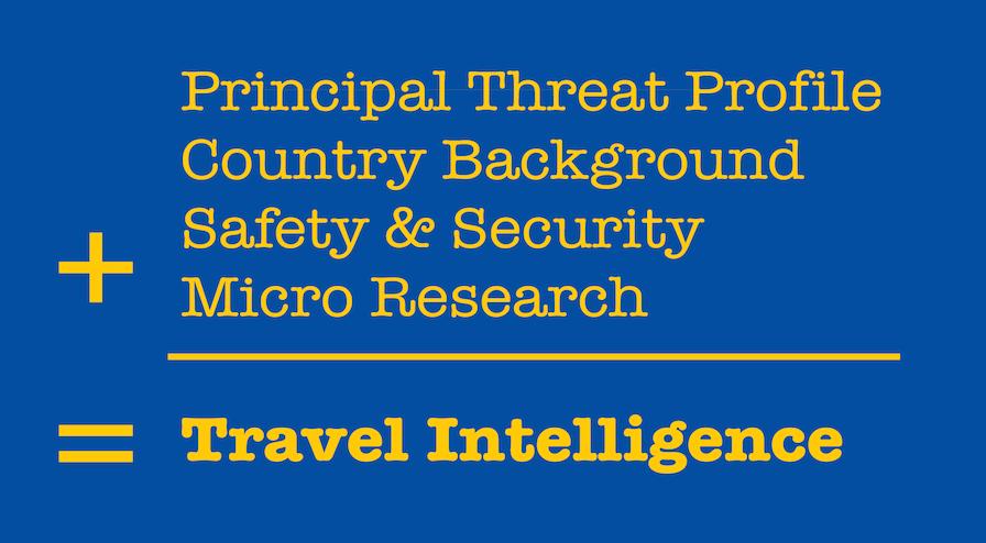 Travel Intelligence Executive Protection