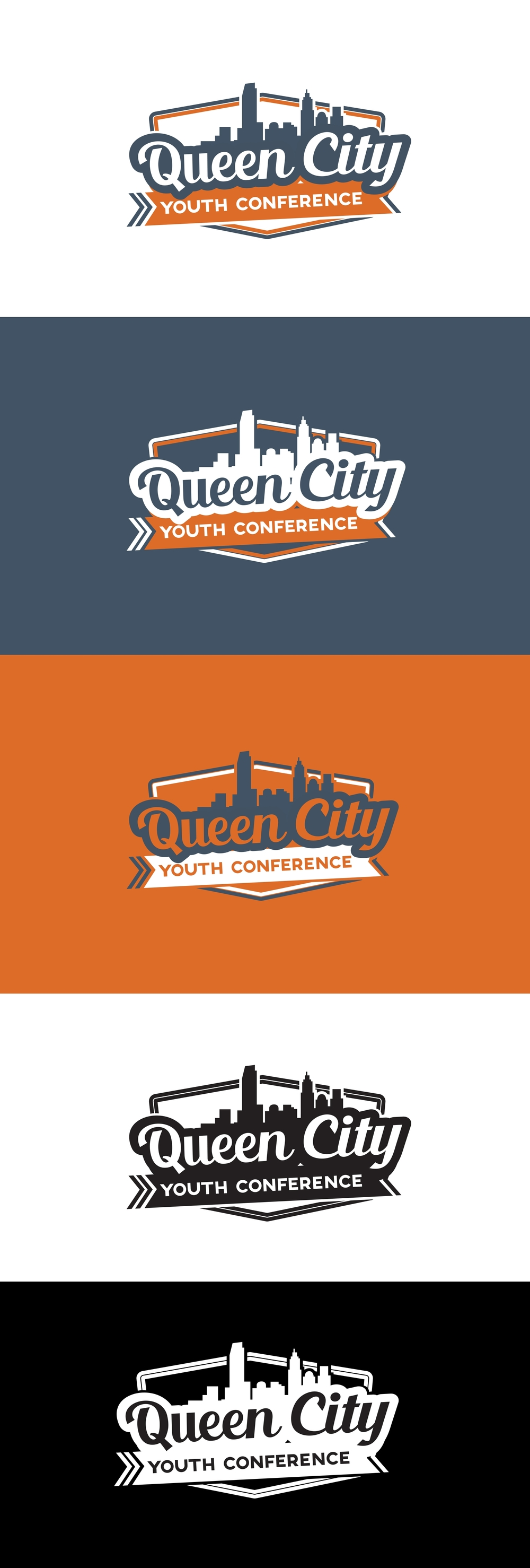 Queen City Youth Conference . Logo Design