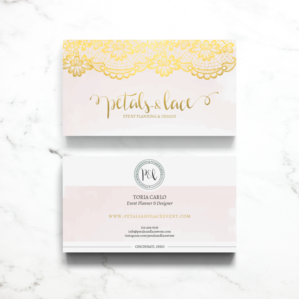Petal\'s & Lace Event Planning and Design . Branding & Web Design ...
