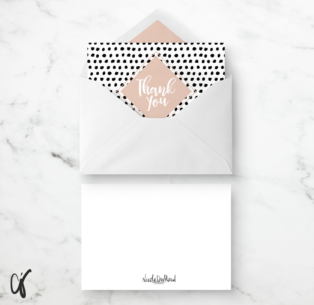Alyssa Joy & Co. || Brand & Web Design || Custom Greeting Card Nicole DuMond Photography