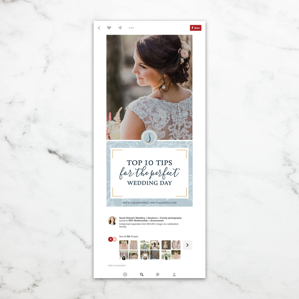 Custom Pinterest Template || Alyssa Joy & Co.