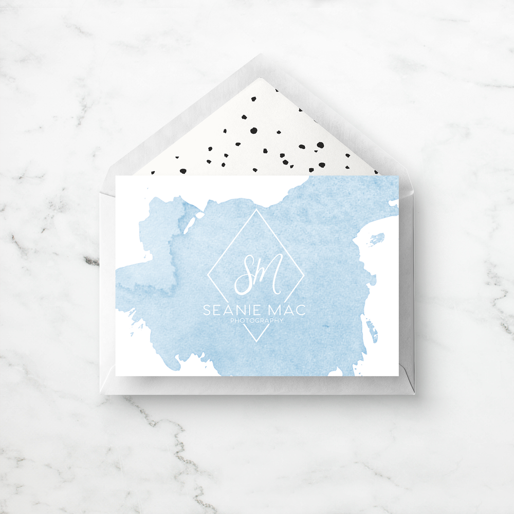 Custom Branded Greeting Card Design || Alyssa Joy & Co.