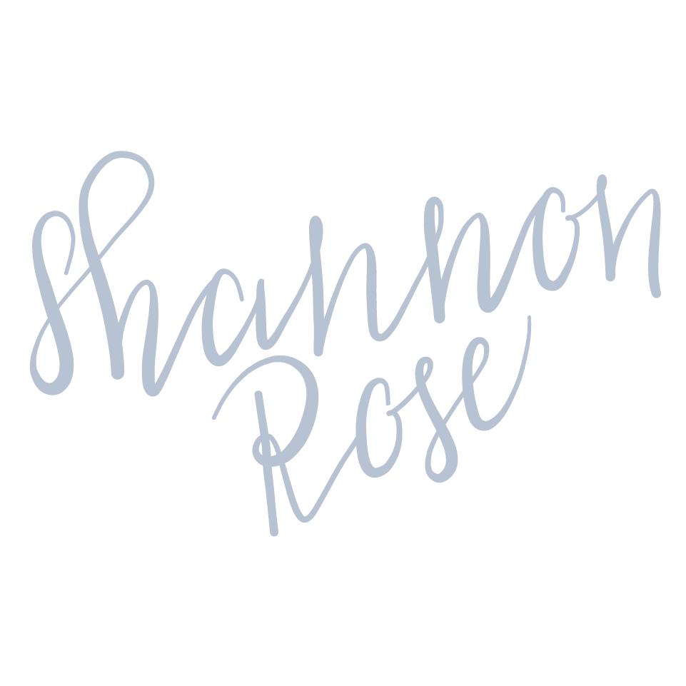Shannon Rose Events Logo Variation || Designed by Alyssa Joy & Co || Brand & Web Designer