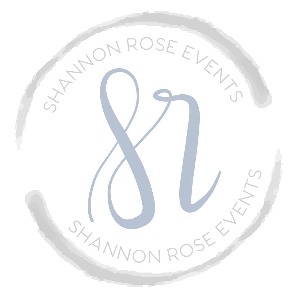 Shannon Rose Events Submark Design || Designed by Alyssa Joy & Co || Brand & Web Designer