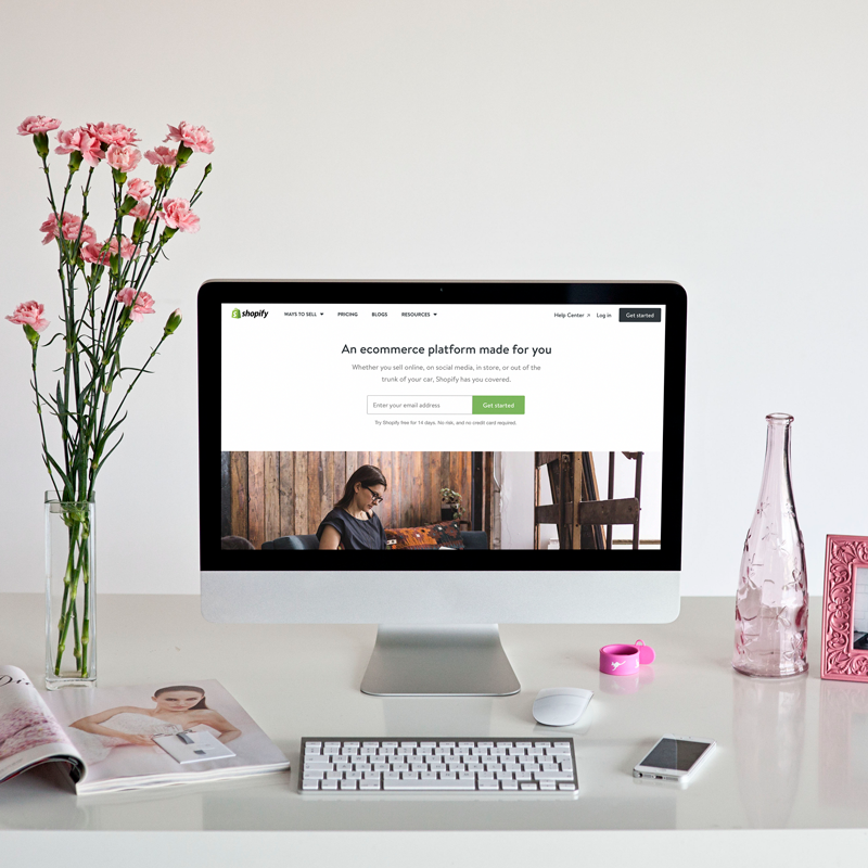 Alyssa Joy & Co. || Web Design on Shopify for Creatives and Small Businesses