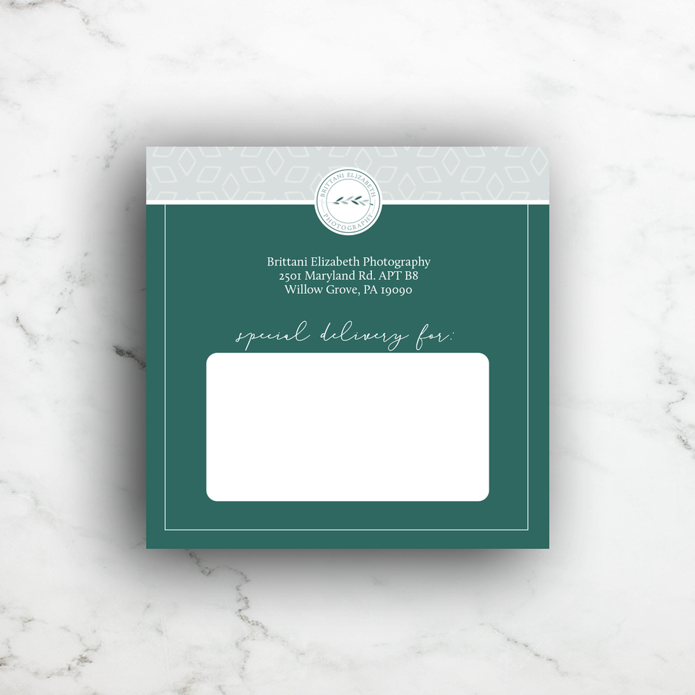 Alyssa Joy & Co. || Custom Shipping Label Design