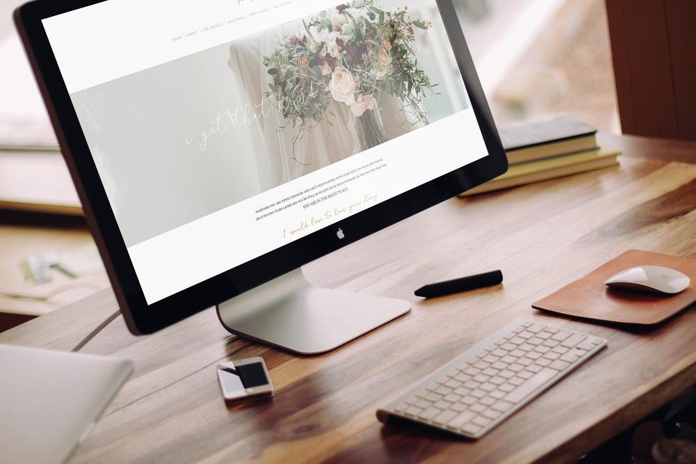 ProPhoto 6 Web Design || Alyssa Joy & Co.
