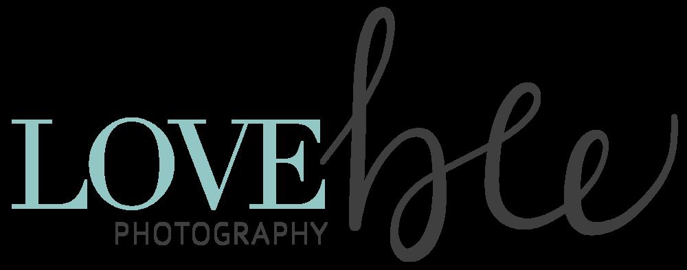 Alyssa Joy & Co. || Logo Design for Love Bee Photography, Ontario, Canada