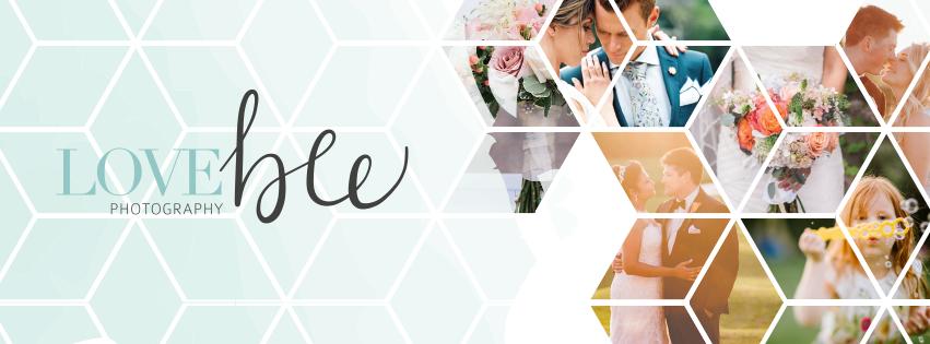 Alyssa Joy & Co. || Facebook Cover Design for Love Bee Photography, Ontario, Canada
