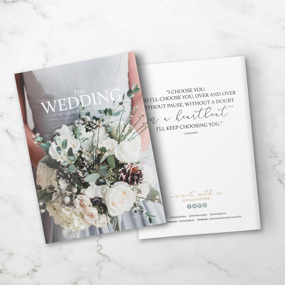 Alyssa Joy & Co. || Brittani Elizabeth Photography || Custom Welcome Magazine Design