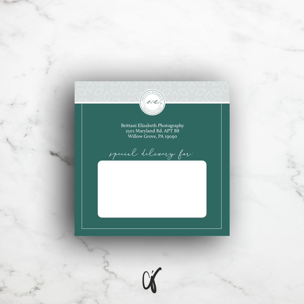 Alyssa Joy & Co. || Brittani Elizabeth Photography || Custom Shipping Label Design