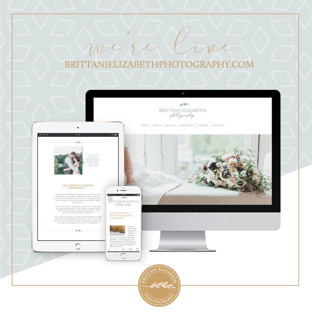 Alyssa Joy & Co. || Brittani Elizabeth Photography || ProPhoto 6 Custom Web Design