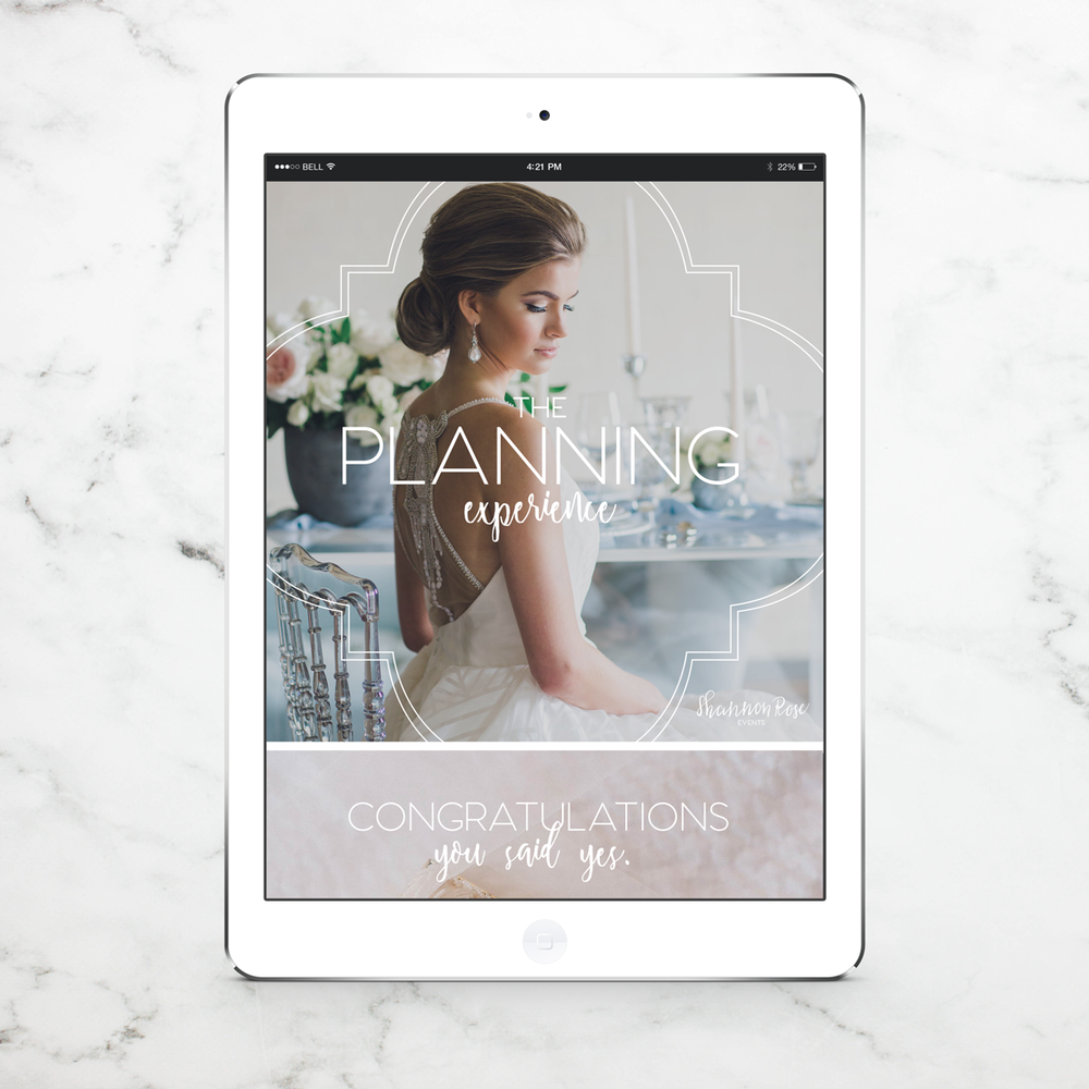 Alyssa Joy & Co. || Email-Ready Pricing Guide Design || Shannon Rose Events, Boutique Wedding Planner in Fort Worth, TX