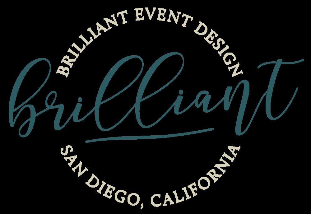 Alyssa Joy & Co. || Brilliant Event Design Submark Design