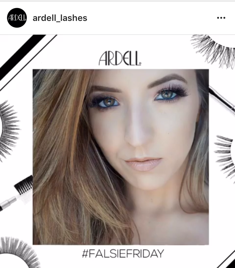 Ardell Lashes Instagram Feature
