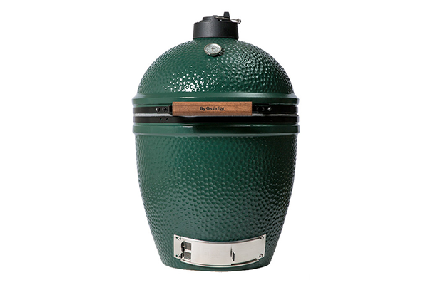 Big Green Egg (Large size)   The Big Green Egg is the best kamado-style ceramic cooker on the market, and Fleet-Plummer is the only place in Greensboro that you can get it. The Large is the most popular size and a favorite to handle the cooking needs of most families and gatherings of friends.  Learn more about all of our Big Green Eggs here.