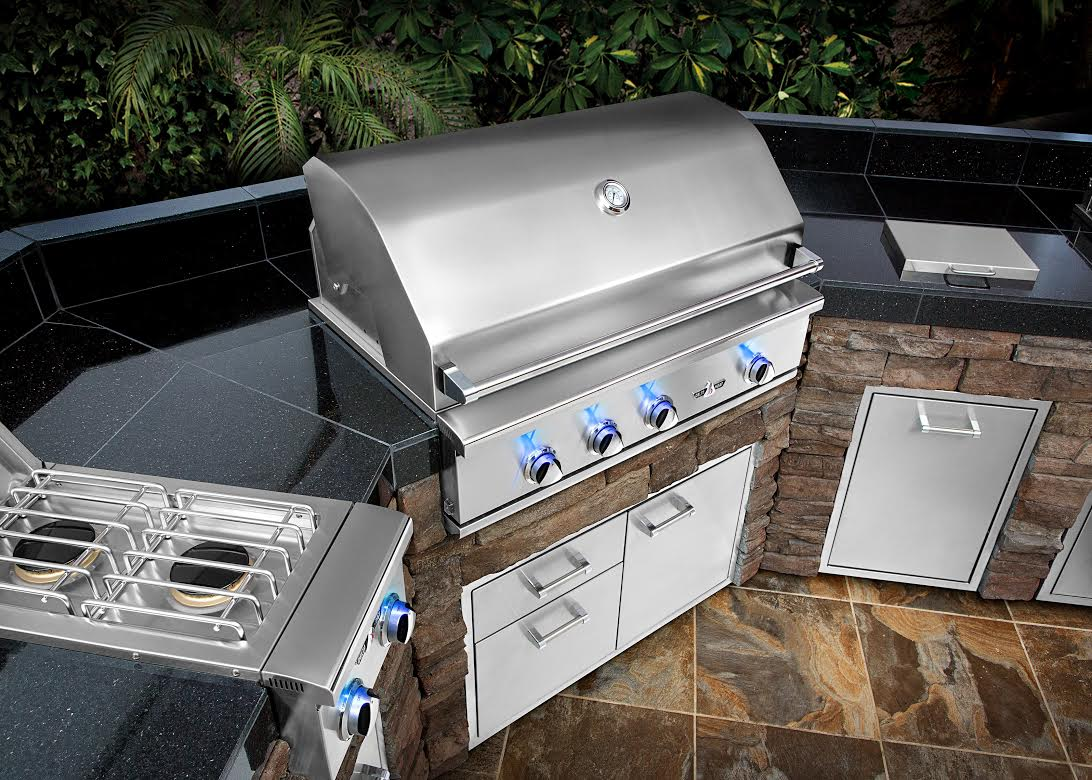 delta heat built in grills u2014 fleet plummer gracious living