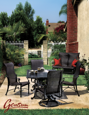 Gensun Outdoor Furniture — Fleet-Plummer: Gracious Living ...