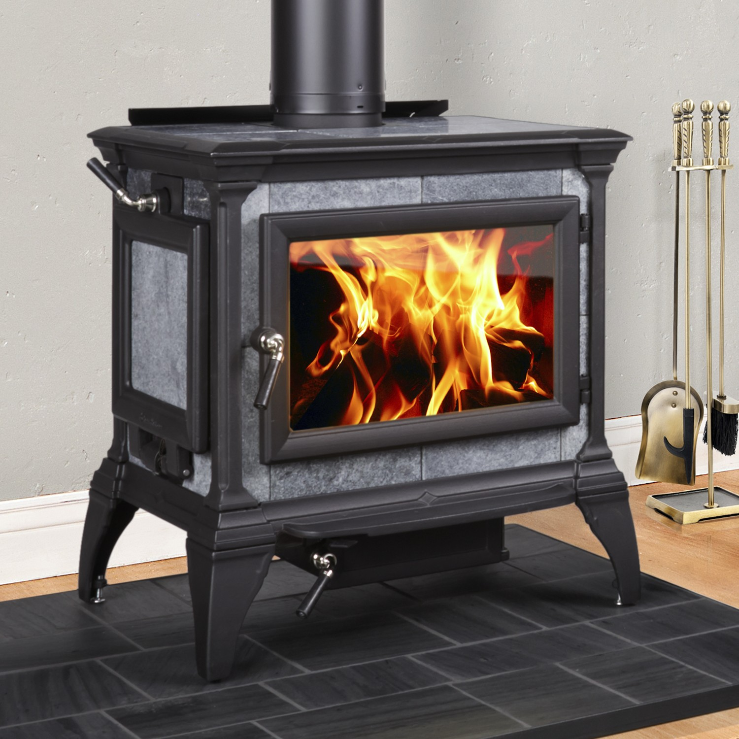 Soapstone Wood Stoves - Soapstone Wood Stoves €� Fleet-Plummer: Gracious Living, Southern Style