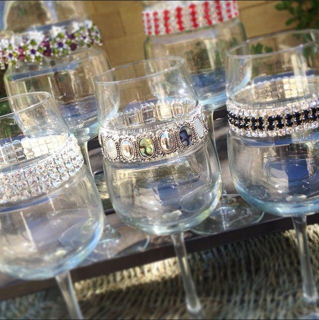 Customizable Wine Glasses
