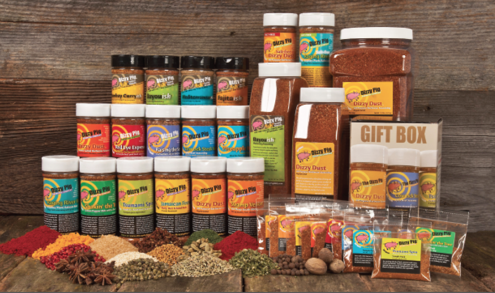Dizzy Pig Seasonings and Rubs