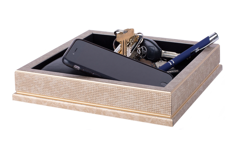 Valet Trays   Handcrafted valet trays, all made in the USA, make the perfect place for him to empty his pockets.
