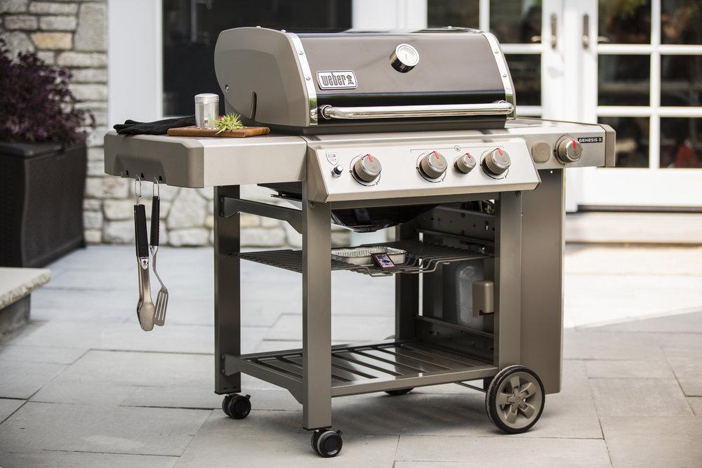 weber genesis ii series gas grills