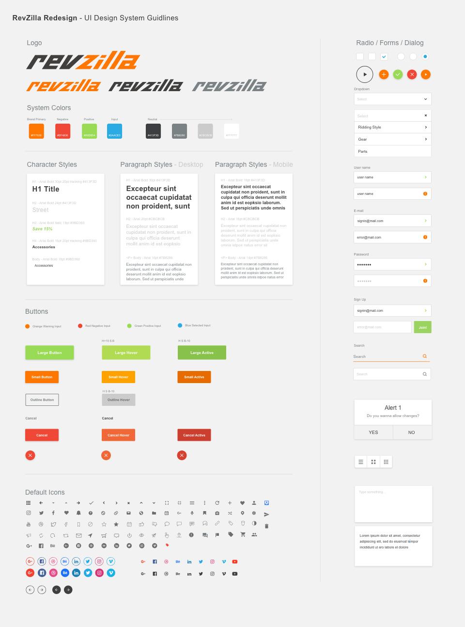 Versatile UI Design System