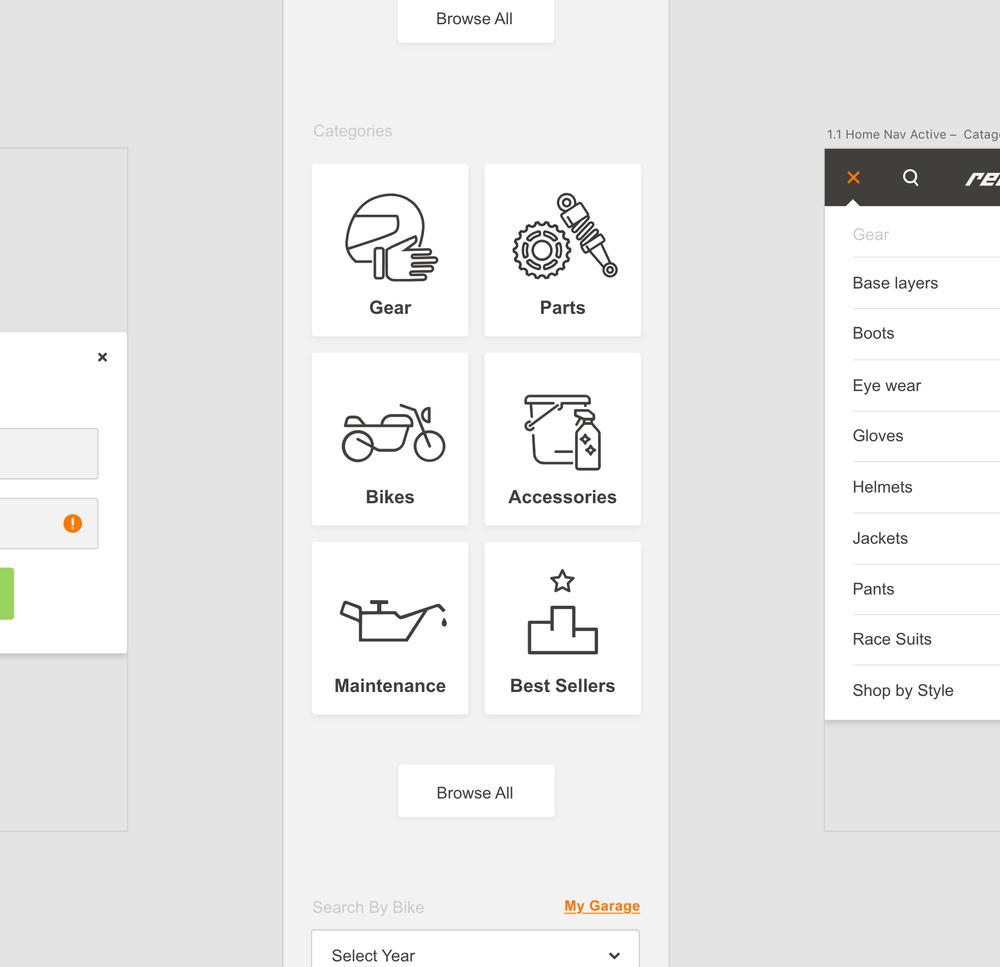 Simple Catalog Navigation