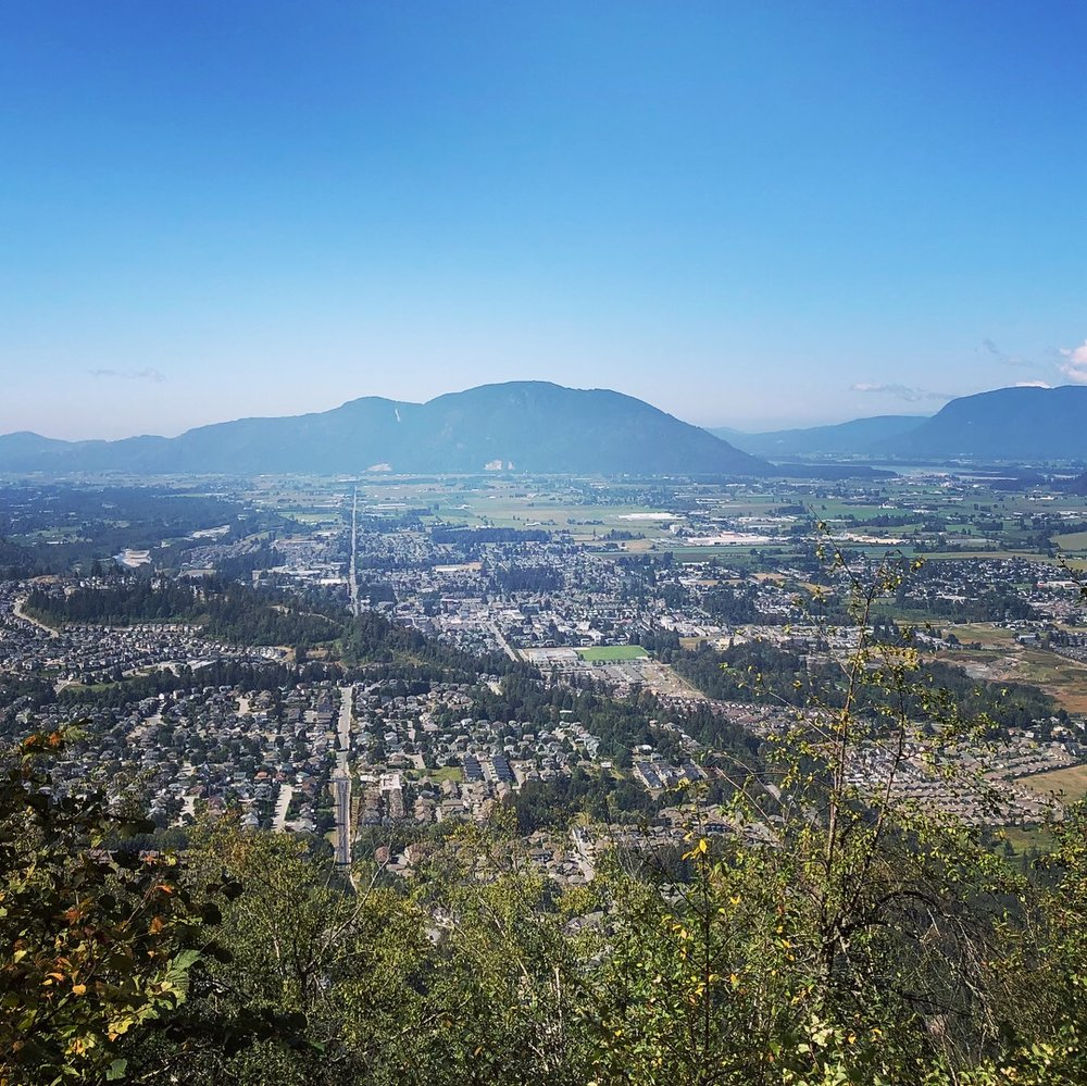 Mount Thom Park Chilliwack Hiking Trails