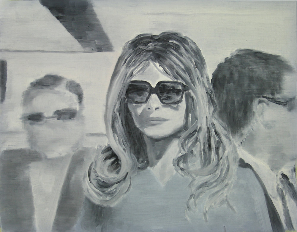 Melania (3),  2019, Oil on wood, 11 x 14 inches