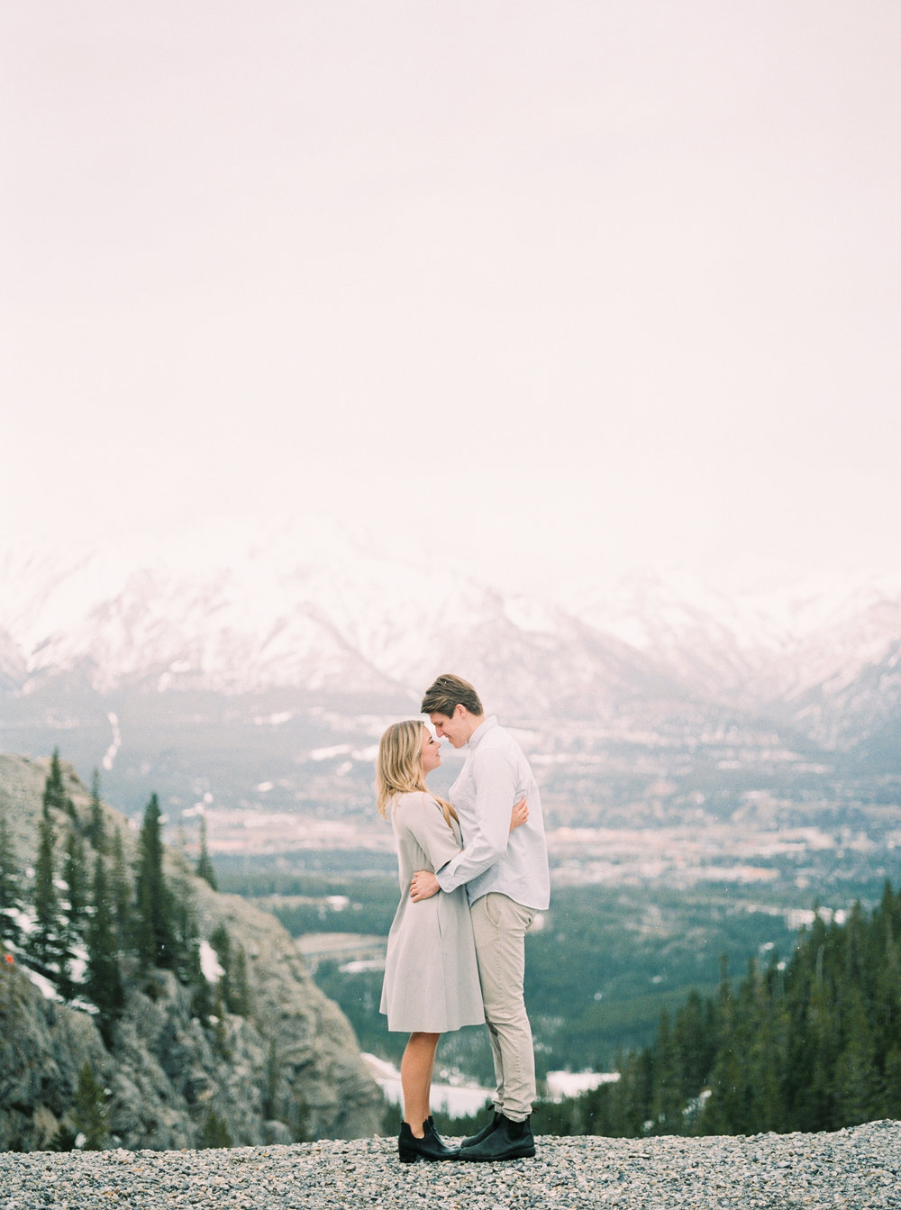 Rocky Mountain Bride Engagement Session