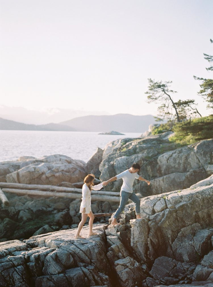 Vancouver lighthouse park engagements