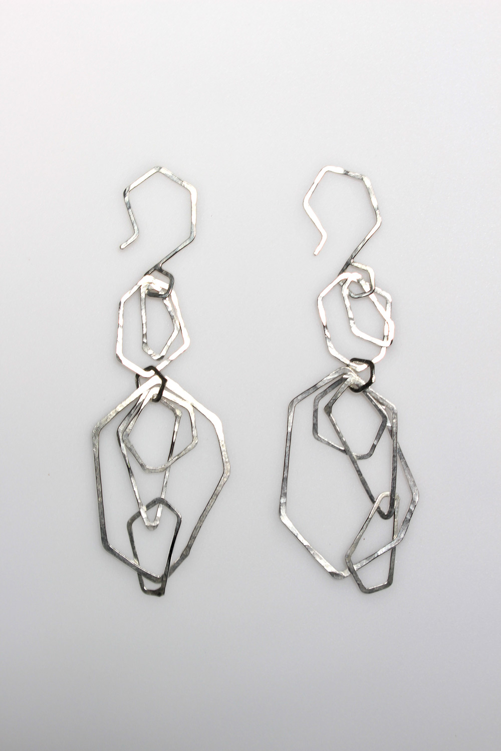 Kate Mess, <em>Faceted Chain Earrings No.6</em>