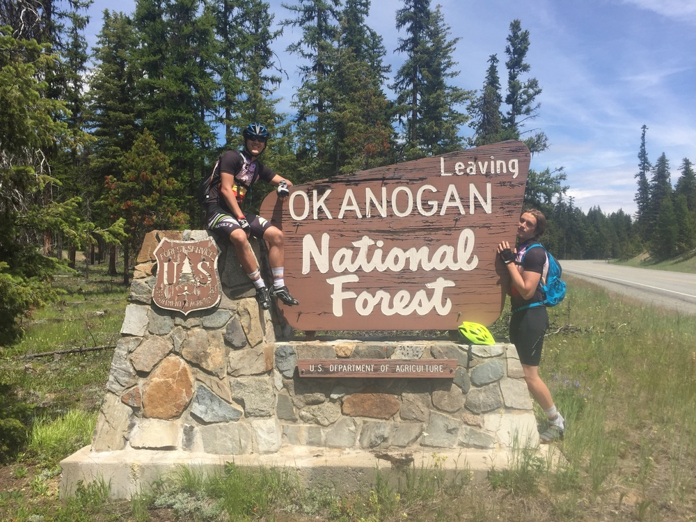 At Okanogan National Forest just past the Loup Loup