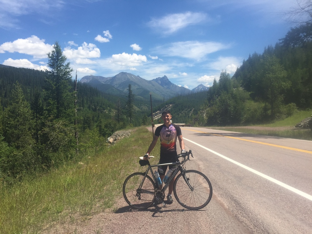 Glacier National Park was a beautiful yet grueling ride