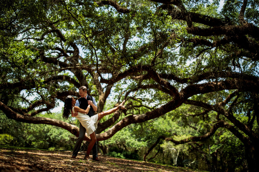 Brynn Ken Jungle Gardens Avery Island Louisianna LA Engagement-111.jpg