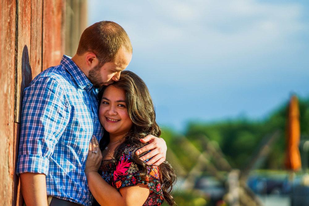 Lhynette Sean Bull Run Winery Manassas VA Engagement-077.jpg