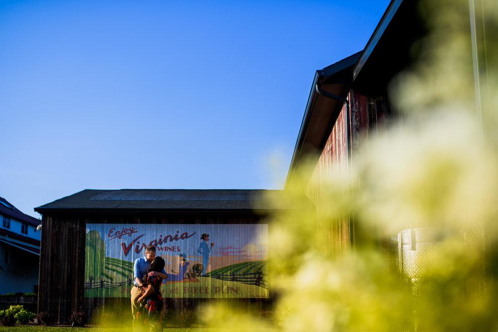 Lhynette Sean Bull Run Winery Manassas VA Engagement-113.jpg