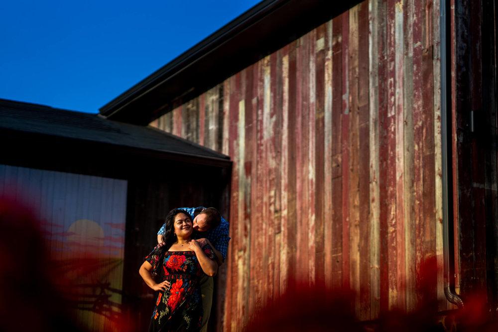 Lhynette Sean Bull Run Winery Manassas VA Engagement-121.jpg